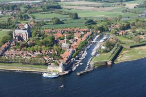 Luchtfoto Veerse Meer Foto: Joop van Houdt / Rijkswaterstaat