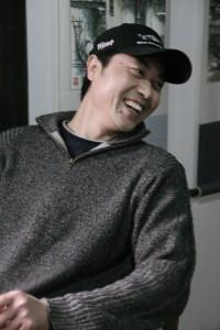De Chinese tekenaar He Jiang