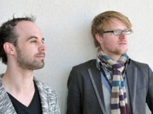 Rogier Telderman en Paul Maassen