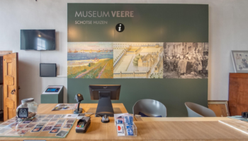 museumwinkel - balie museum veere